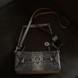 Michael Kors Bags - ‼️SALE👜DKNY Animal print cross body bag. NWT